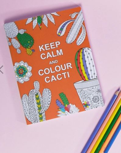 Asos Mindfulness Colouring Book