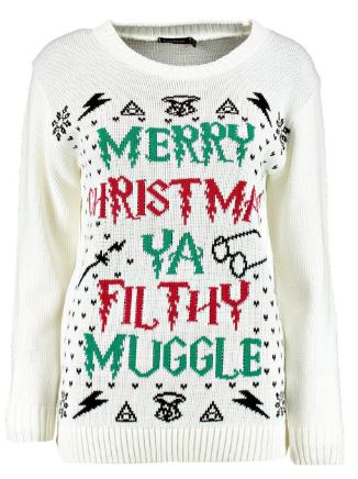 Boohoo Harry Potter Jumper