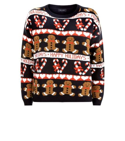 New Look Gingerbread Men Jumper